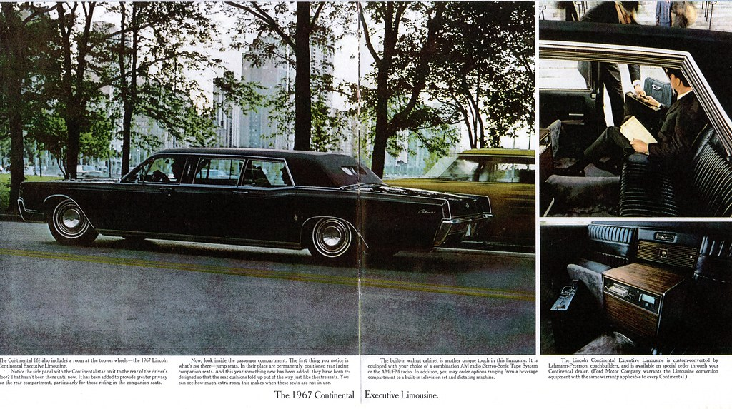 1967 Lincoln Continental Executive Limousine | Alden Jewell