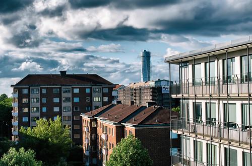 himmel sky cityview malmö sweden turningtorso skånelän sverige se