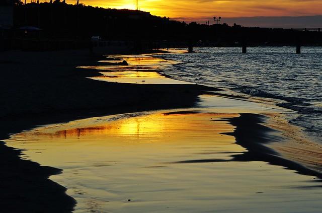 Die Sonne küsst die Ostsee - The sun is kissing the Baltic Sea