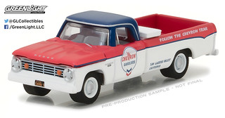 41030-A - 1-64 Running on Empty 3 - 1965 Dodge D100 - Chevron (Front,High Res)