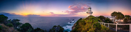 aus australia lighthouse ixtussy panorama pano sealrocks sunrise