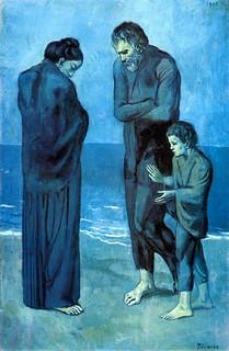 1903 Des pauvres au bord de la mer   by schabrieres