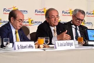 Josep González, president de PIMEC, va participar al Forum Europa - Tribuna Catalunya per parlar de la situació actual de les pimes catalanes.