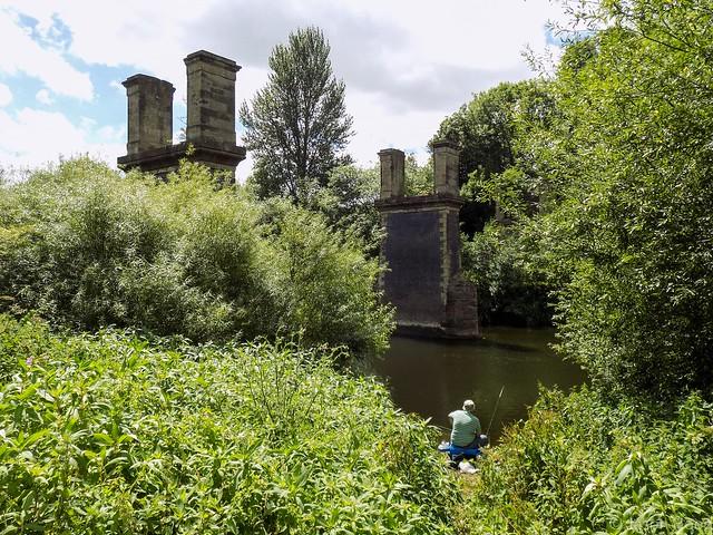 Fishing Beneath The Ruins
