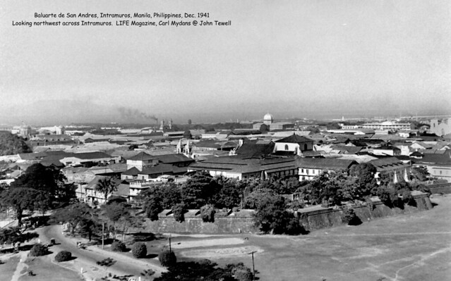 Baluarte de San Andres, Intramuros, Manila, Philippines, Dec. before the 21st, 1941
