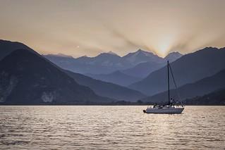 Sunset silence   by Yesiamsebi
