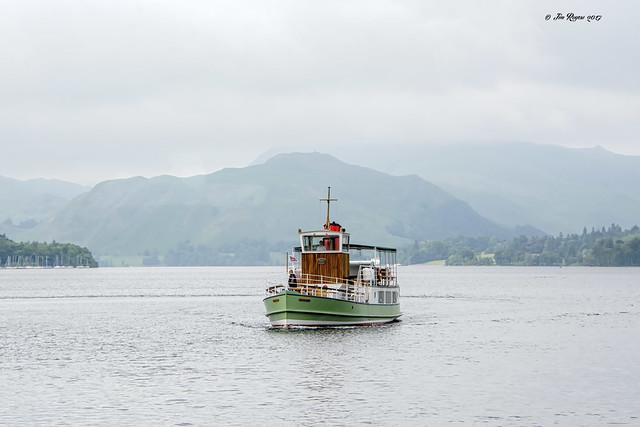 Steam Cruiser on Ullswater.