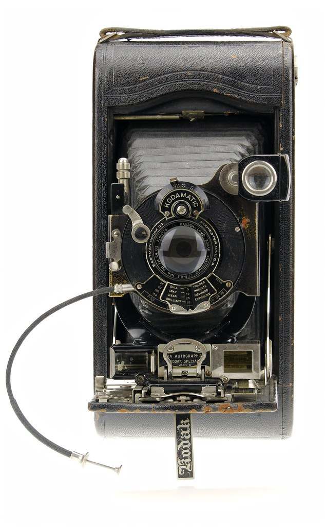 Kodak No3A Autographic Special Model B with CRF