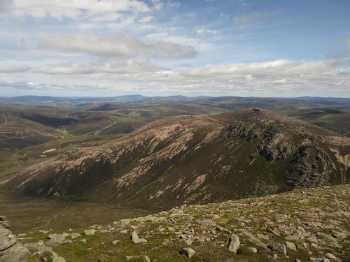 Looking back to East Meur Gorm Craig | by malky_c