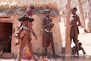 Himba trio