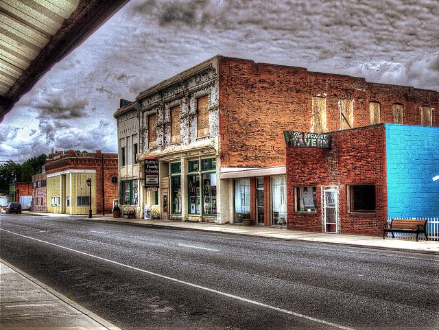 Main Street U.S.A., Sprague, WA