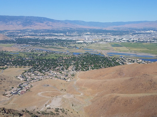 Hidden Valley and Reno from cliff | by simonov