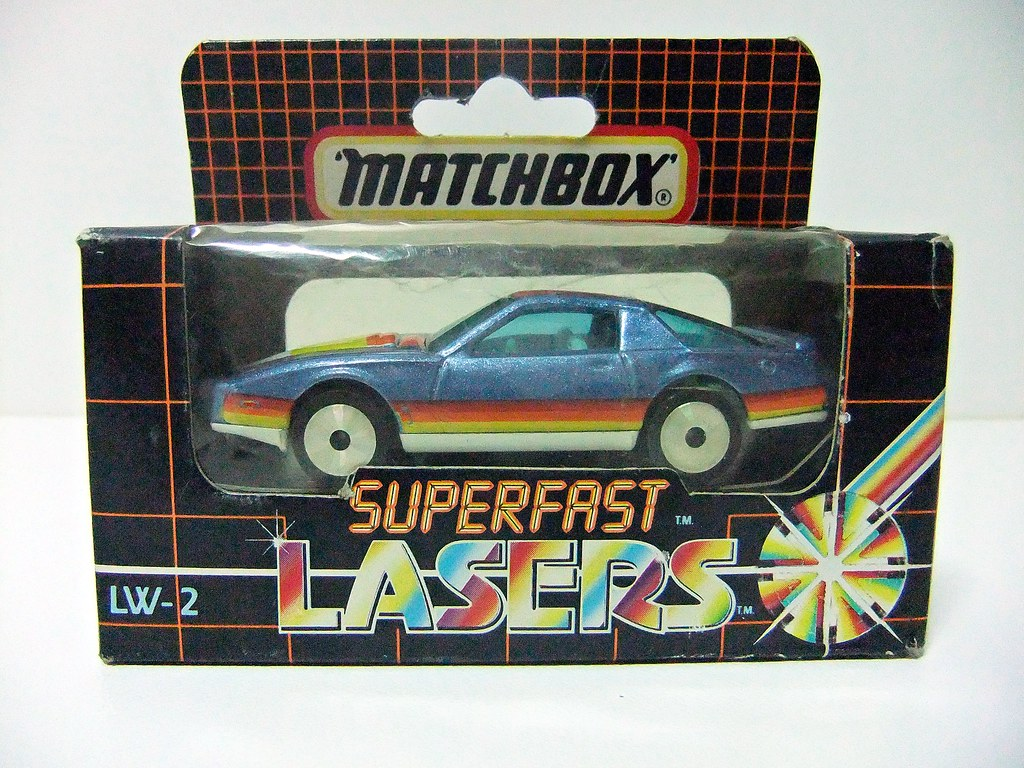PONTIAC FIREBIRD SE LW-2 - MATCHBOX