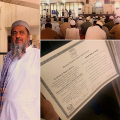 Baba Jaan receiving his Rujoo Álal Quran Course Certificate (1st Year)  #QuranAcademy #QuranAcademyKorangi #QAY #AnjumaneKhuddaamulQuran #TanzeemeIslami #QuranFehmiCourse #60YearsOld #MashaAllah #Alhumdulillah