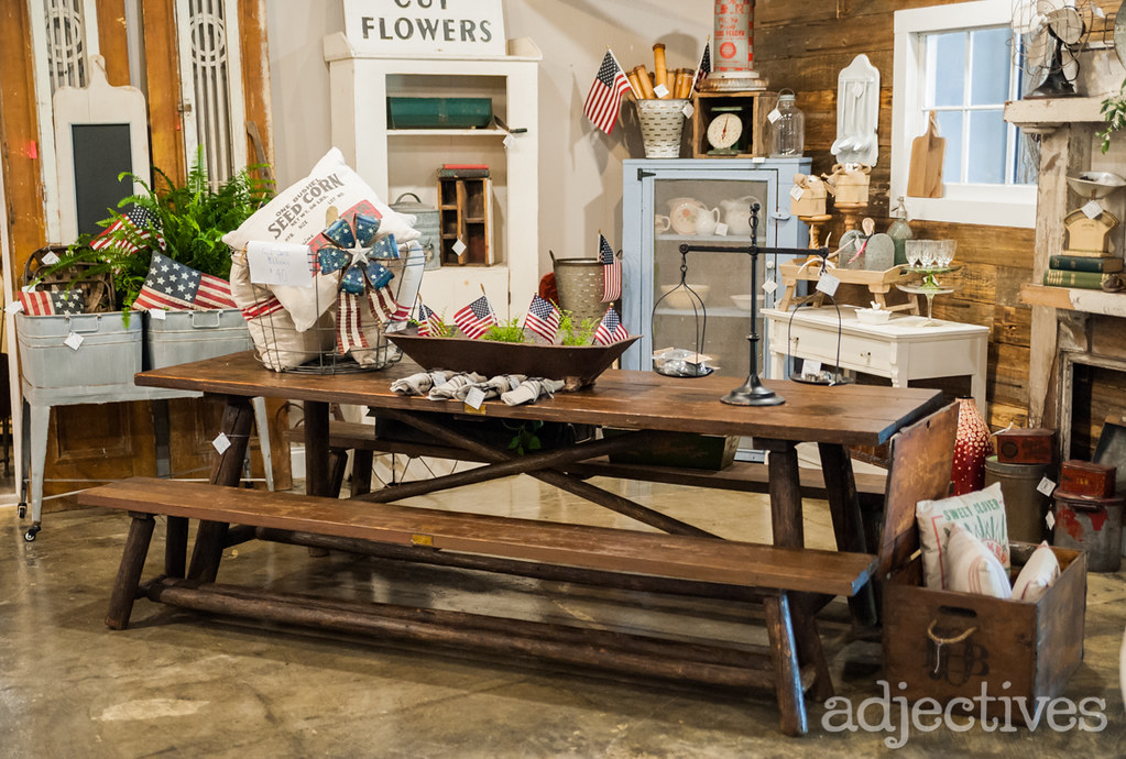 Rustic, farmhouse table by Middleton Mercantile in Adjectives Altamonte-3311.NEF