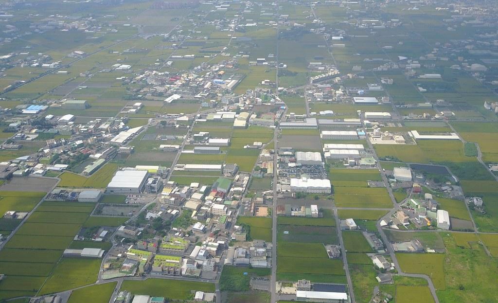 彰化農地工廠空拍照。本報資料照。