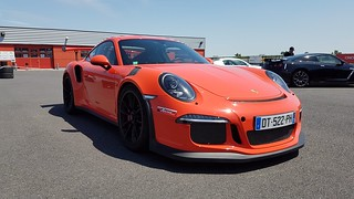 911 GT3 RS stage de pilotage | by Cypr-21
