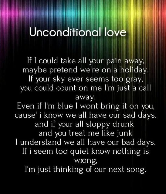 Love Unconditional Love Poems For Her With Images Hug2