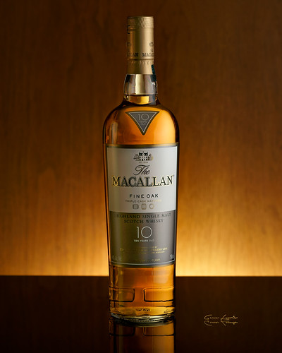 The Macallan 10 Year Old Fine Oak Scotch whisky | by navydoc45