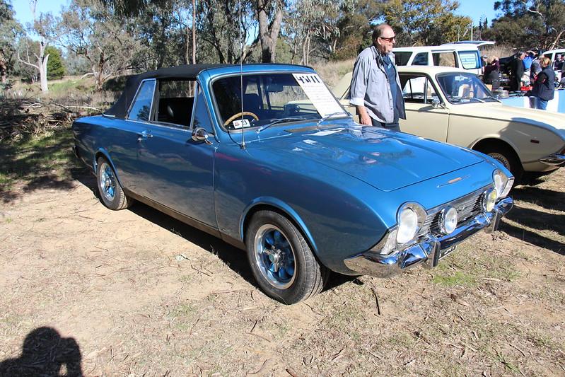 1966 Ford Corsair Crayford V6 Convertible