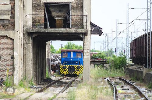 Diesel locomotive in Adrovac | by tesla_R