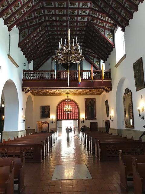 Iglesia de La Veracruz, Bogotá, Colômbia.