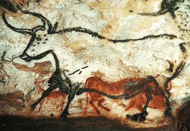 postcard - Lascaux Cave Drawings 5