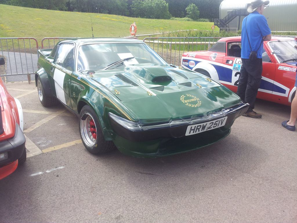 1979 Triumph TR7 V8 rally car | V8 TR7s were extensively use