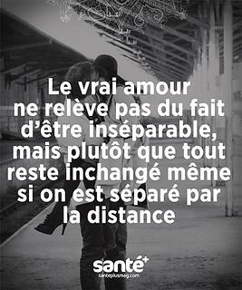 Citation D Amitie A Distance Le Vrai Amour Ne Releve Pa Flickr