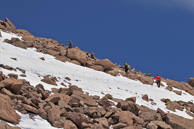 To the Top of Mt. Evans