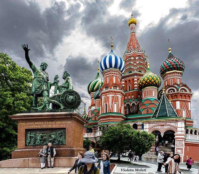 Moscow_Saint Basil's Cathedral