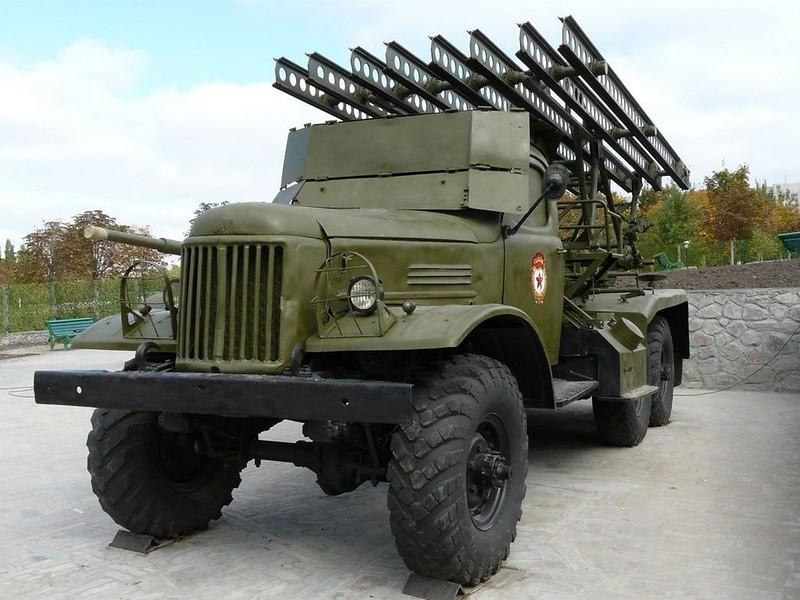BM-13 on ZiL-157 1