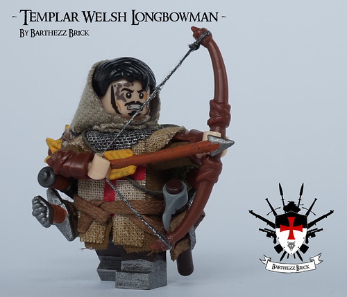 Templar Welsh Longbowman By Barthezz Brick 6 | by Barthezz Brick