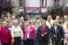 Detalle de algunos/as participantes en la plaza