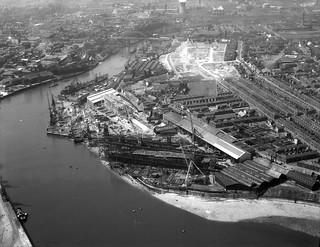 The North Sands Shipyard, Sunderland