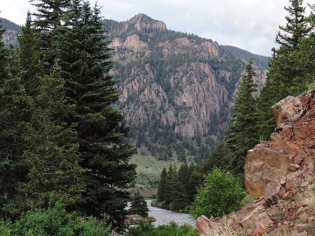 Rocky river view
