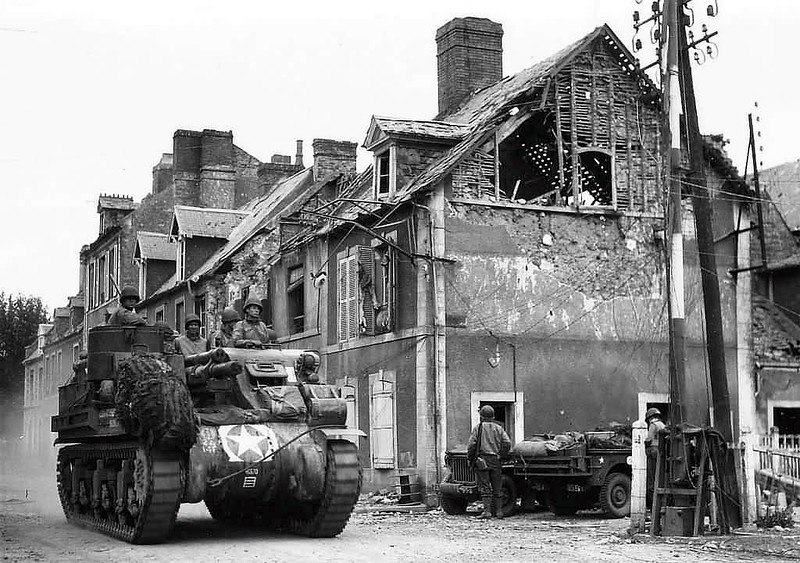 M7 Priest in beweging