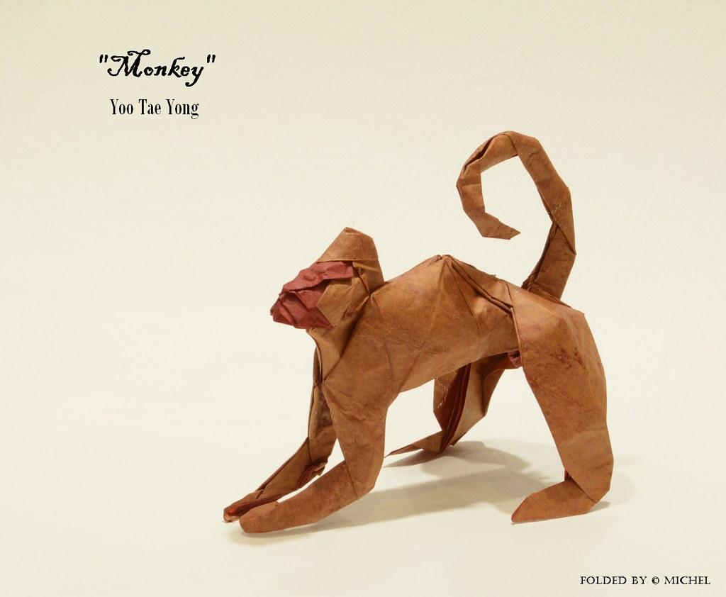 Origami Monkey Familie Stockfoto und mehr Bilder von Asiatisch - iStock | 842x1024
