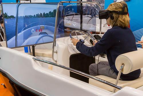 Virtual Reality auf der Boot 2017   by wuestenigel