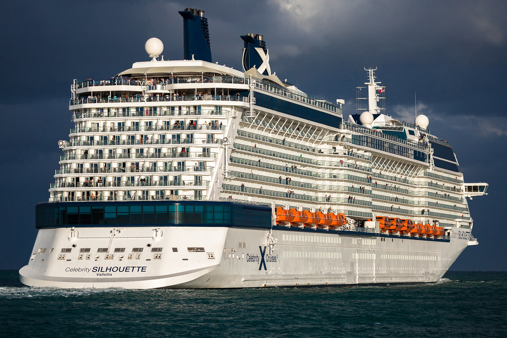 Celebrity Silhouette sails from Port Everglades