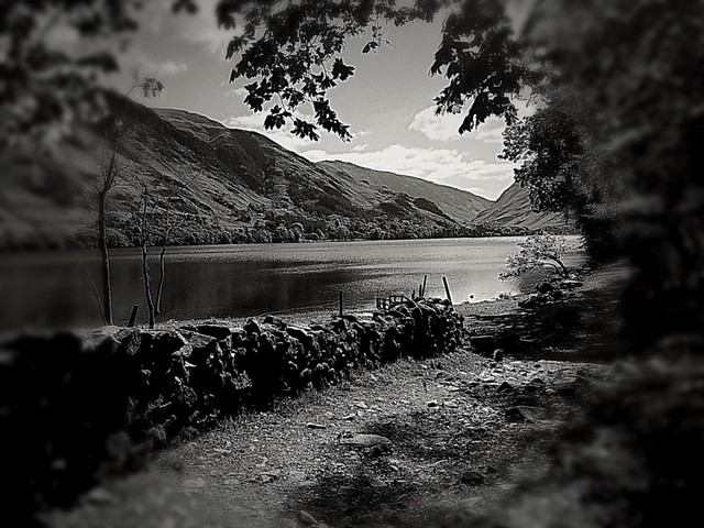 Buttermere black and white edit