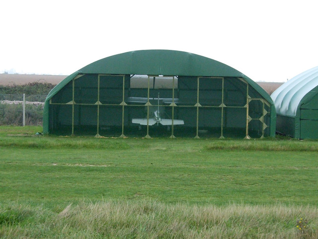 Microlight at Middle Stoke