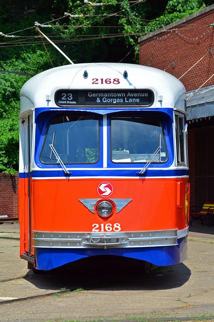 Baltimore Streetcar Museum #2168