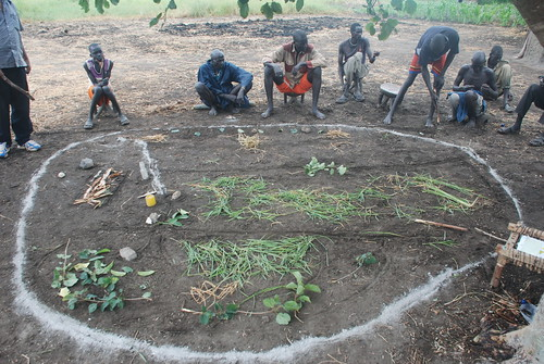Community mapping use of rangelands and rangeland resources, Gambella, Ethiopia
