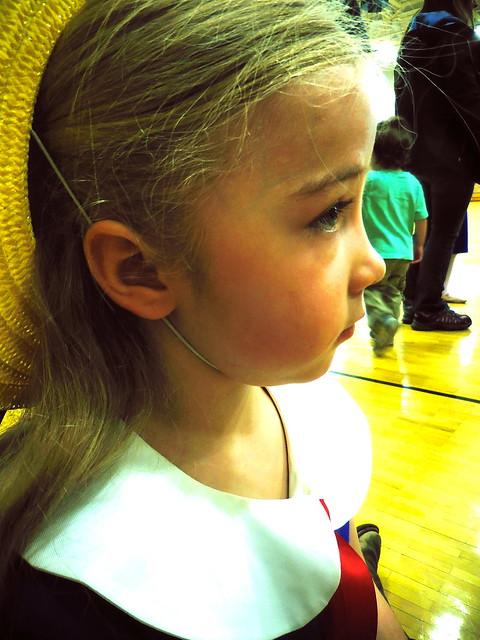 dance recital: waiting