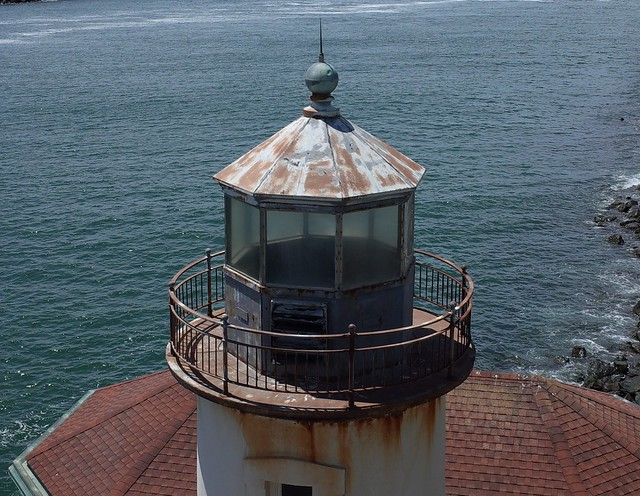 Coquille River Lighthouse - the Lantern Room