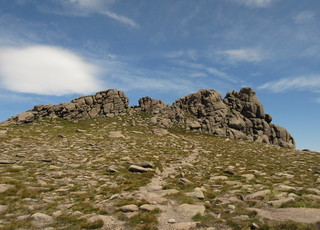 Looking back to the summit tor | by malky_c
