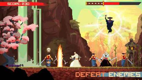Super Samurai Rampage - un violentissimo arcade indie per iPhone e Android!