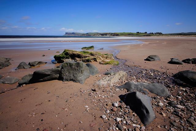 Ballycastle Beach, Northern Ireland.