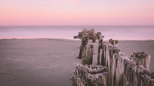169 longexposure beach nikon atlanticocean pilings nikon7200 follybeach nikon1755mm